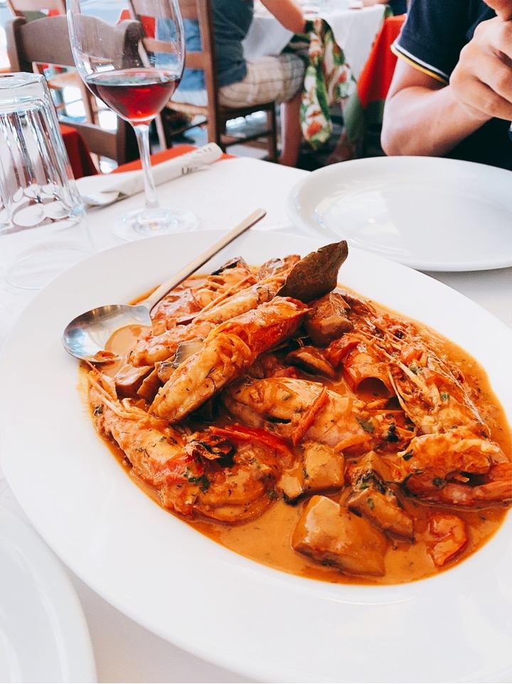 ギリシャ料理 アテネ お勧め 食事 ランチ