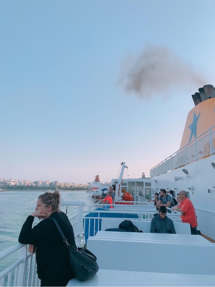 ミコノス島 アテネ 移動 フェリー