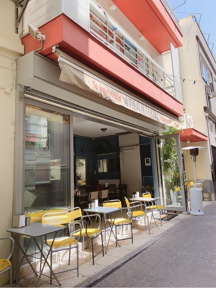 アテネ 市内 食事 ランチ 安い おすすめ
