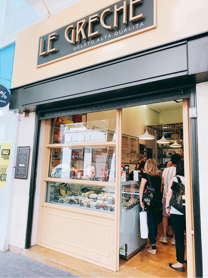 le greche 人気 アイス お店 デザート アテネ ギリシャ