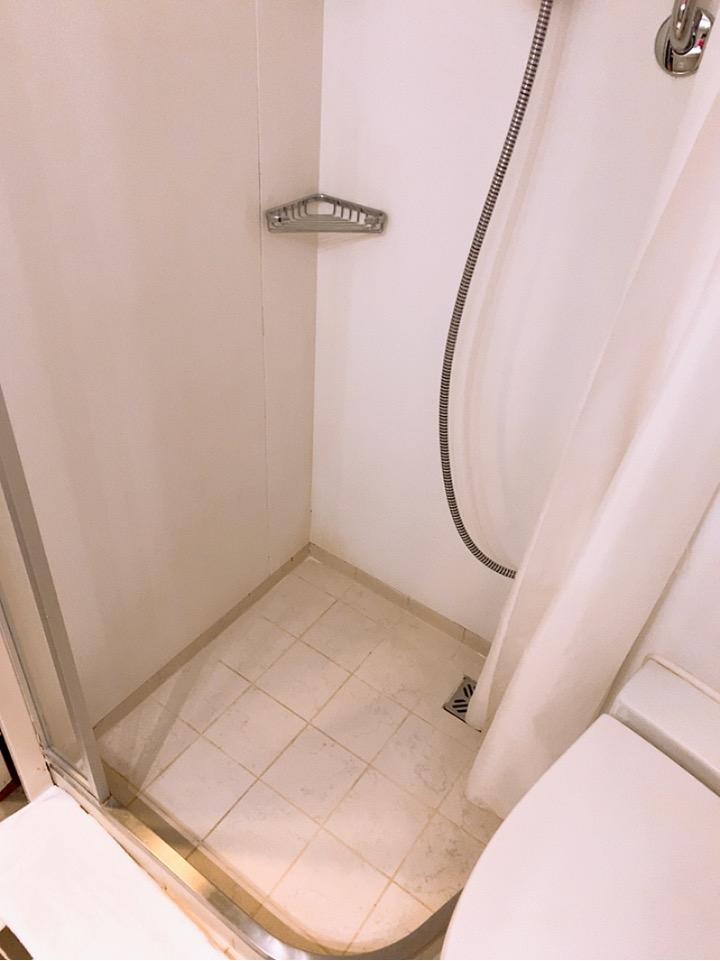 MSC MSCsplendida 船内 窓部屋 4人部屋 二段ベッド インサイド 内側 窓なし バスルーム シャワー
