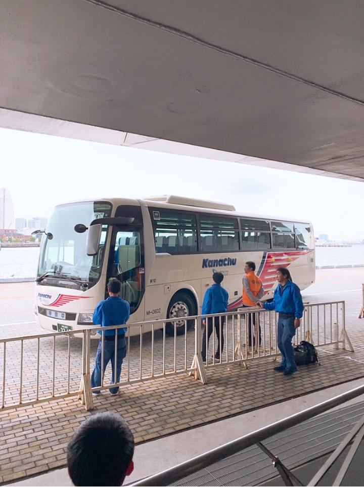 MSC 横浜港 大桟橋ふ頭 大黒ふ頭 シャトルバス