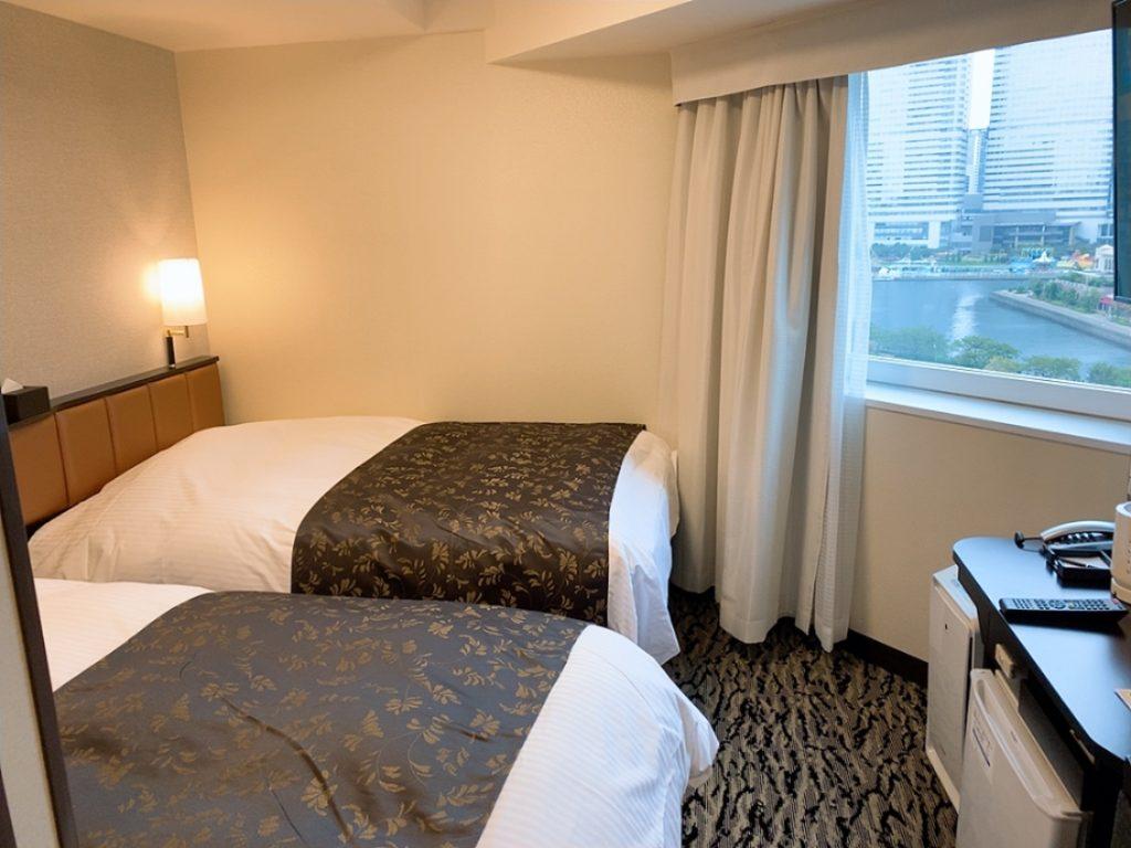 アパホテル 横浜 クルーズ 前泊 ホテル 部屋