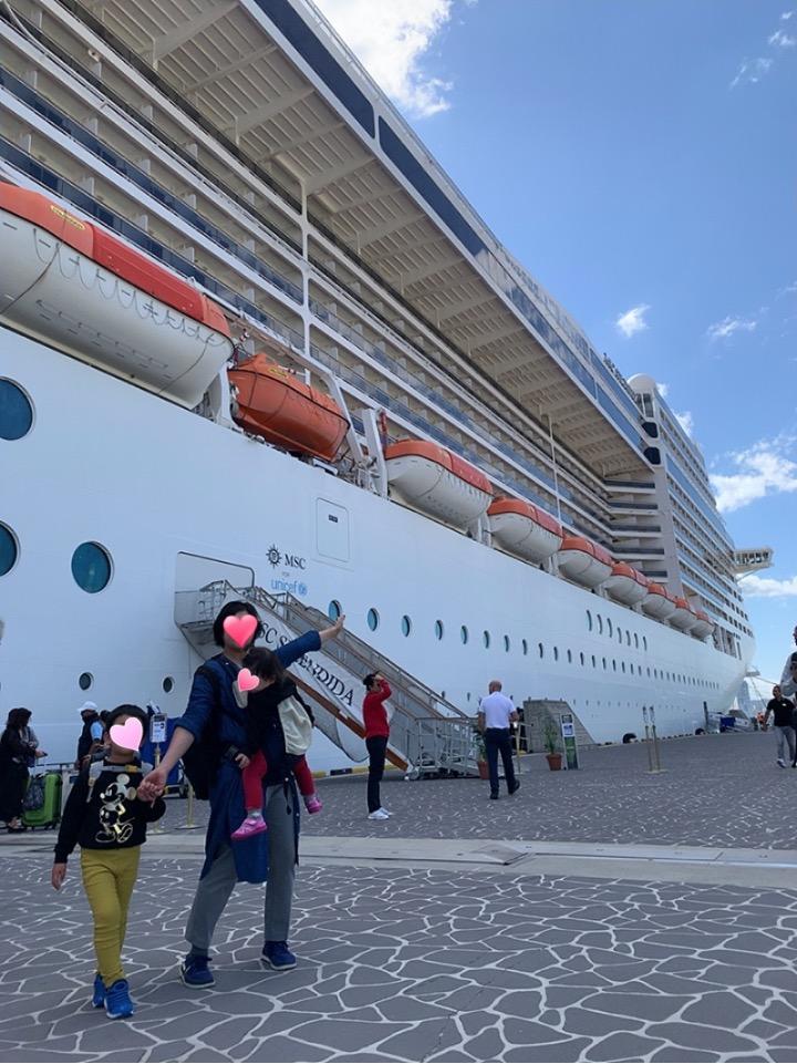 MSC MSCスプレンディダ 下船 釜山