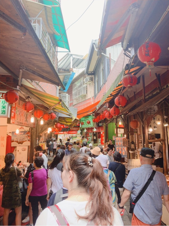 台湾 台北  九份 観光