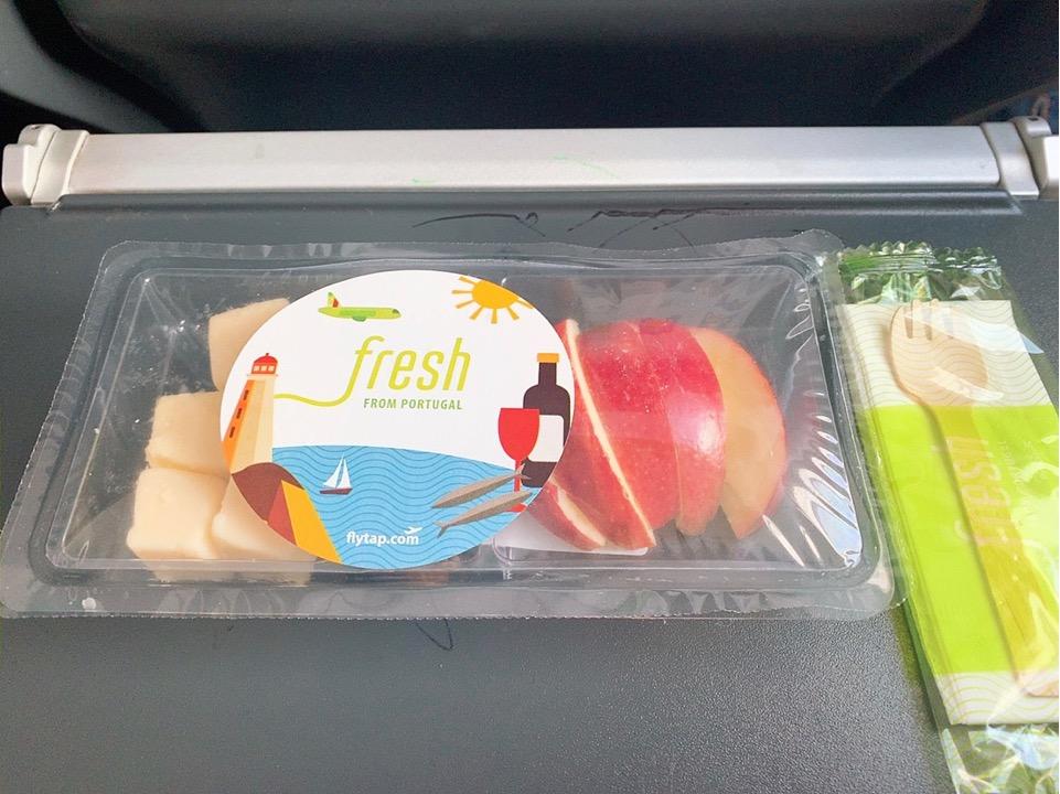 TAP ポルトガル航空 フェズ モロッコ リスボン スペイン ビルバオ 機内食