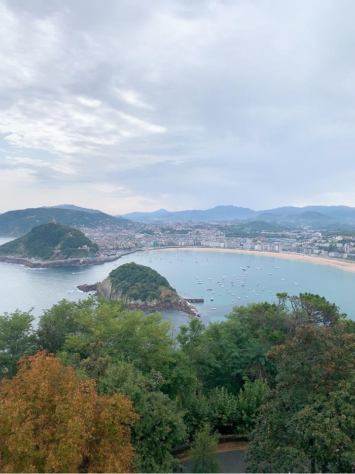 サンセバスティアン 観光 スペイン ケーブルカー monte lgueldo 江の島