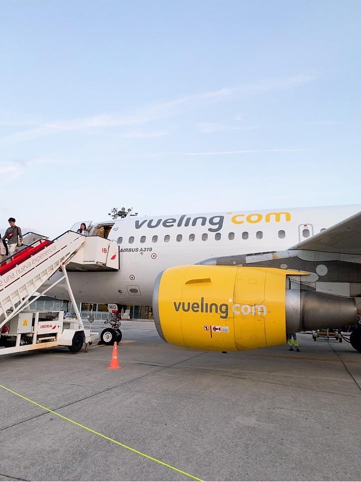スペイン バルセロナ 空港 ブエリング航空 Vueling Airlines サンセバスティアン
