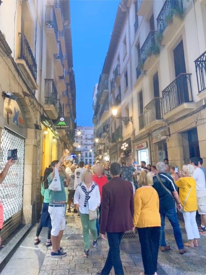 サンセバスチャン バル バル巡り 旧市街