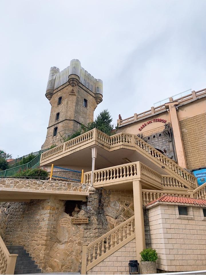 サンセバスティアン 観光 スペイン ケーブルカー monte lgueldo 遊園地