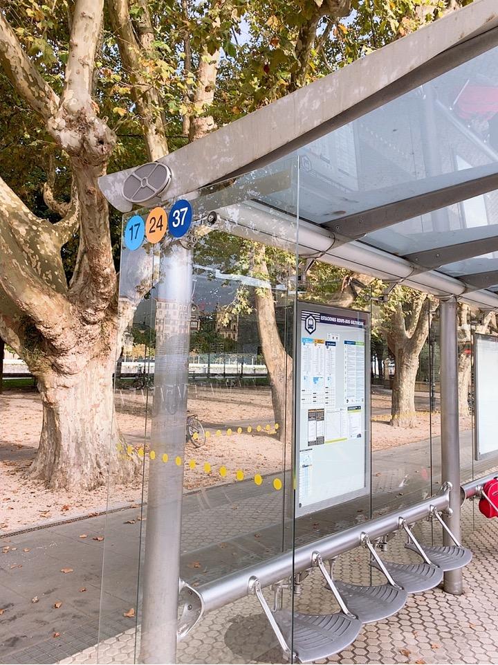 サンセバスティアン 観光 スペイン ケーブルカー monte lgueldo 行き方 バス 移動 バス停
