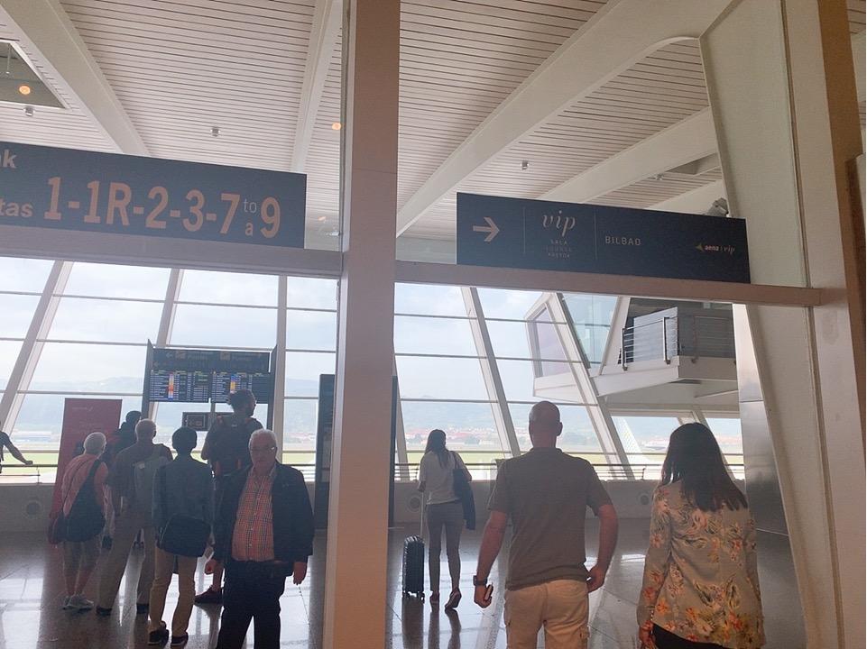 TAP ポルトガル航空 スペイン ビルバオ 空港 ラウンジ 場所