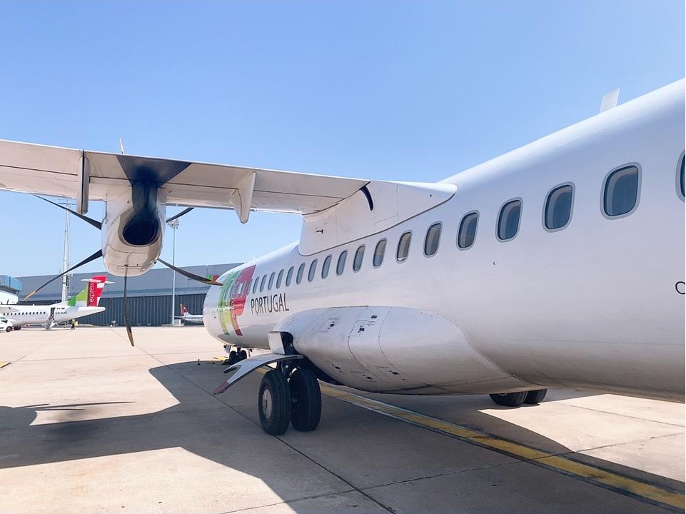 TAP ポルトガル航空 フェズ モロッコ リスボン 機材