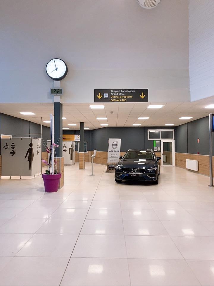 サンセバスティアン空港 トイレ