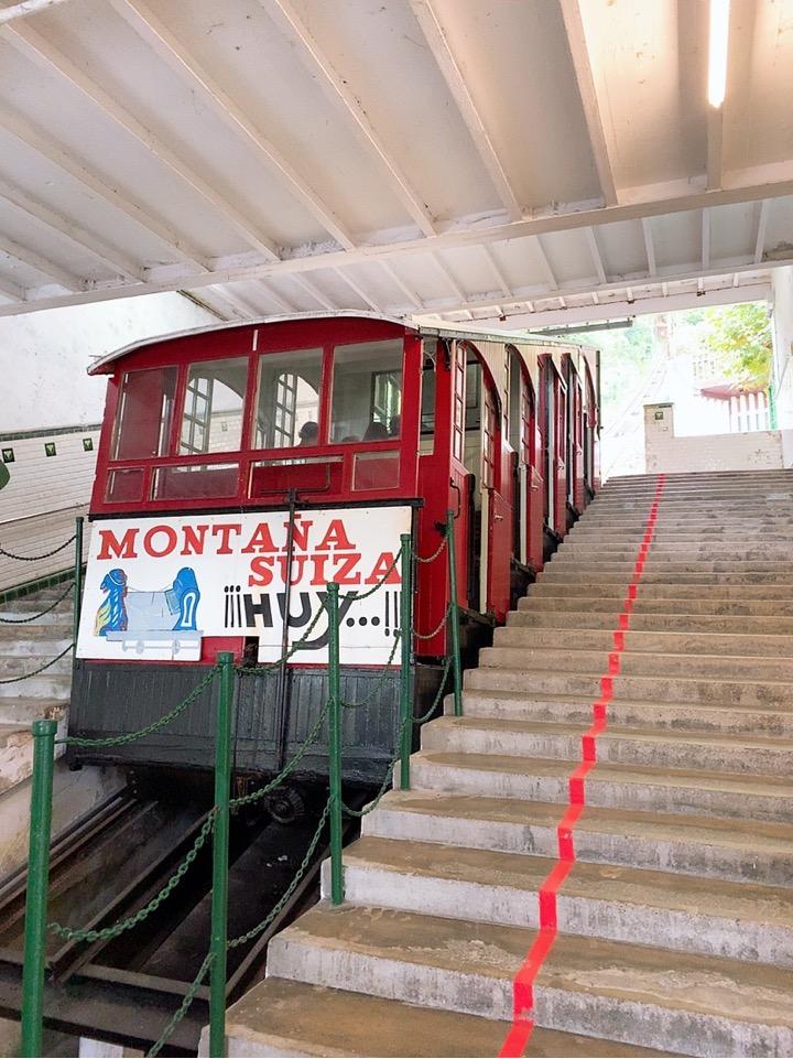 サンセバスティアン 観光 スペイン ケーブルカー faro del monte lgueldo