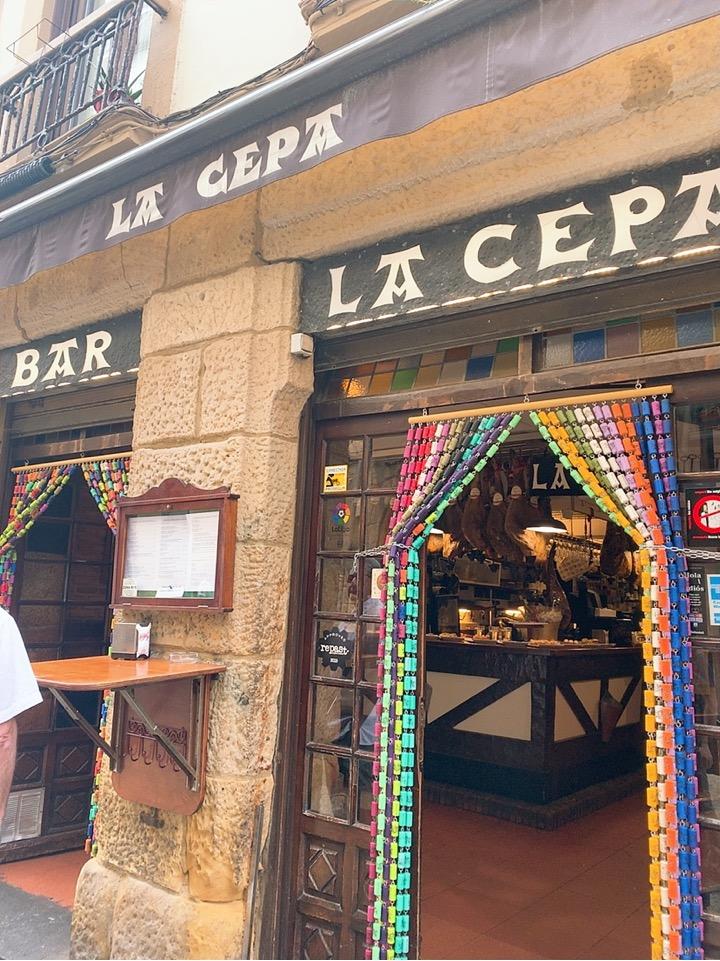 サンセバスティアン バル バル巡り 旧市街 la cepa 立ち飲み