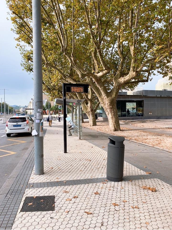 サンセバスティアン 観光 旧市街 スペイン バス停 イゲルド ケーブルカー 行き方