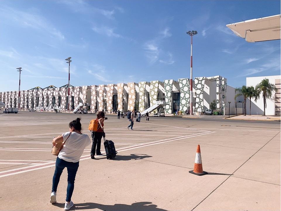 TAP ポルトガル航空 フェズ モロッコ 空港