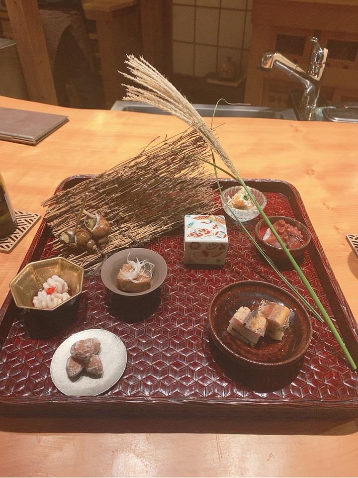 伊藤家のつぼ 穴場 お寿司 お鮨 鮨 オーベルジュ 宿泊 オススメ メニュー 前菜 つまみ 小鉢