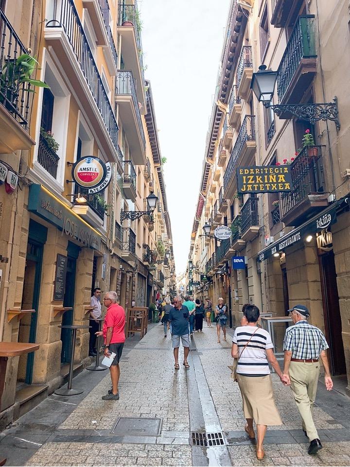 サンセバスティアン バル バル巡り 旧市街