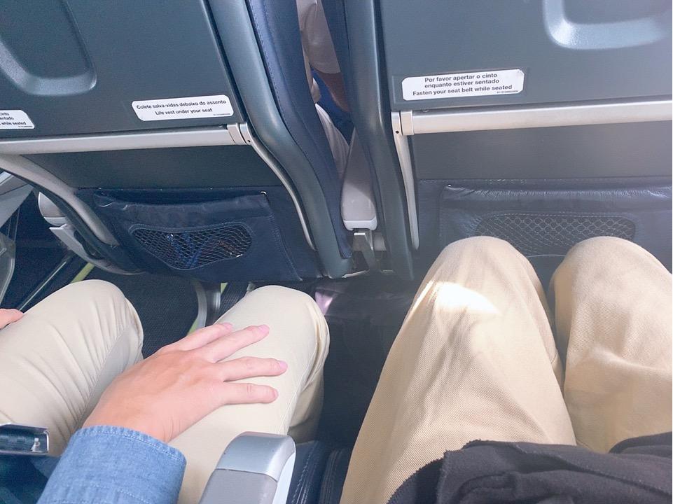 TAP ポルトガル航空 機内 座席