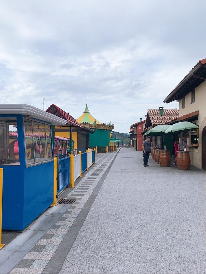 サンセバスティアン 観光 スペイン ケーブルカー テーマパーク monte lgueldo