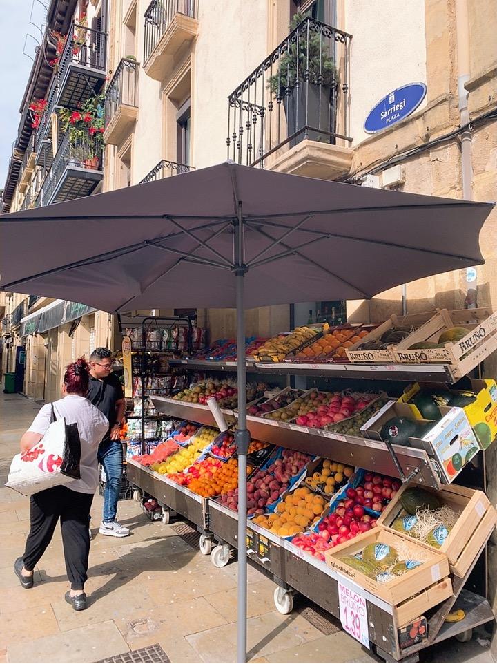 サンセバスティアン 観光 旧市街 スペイン