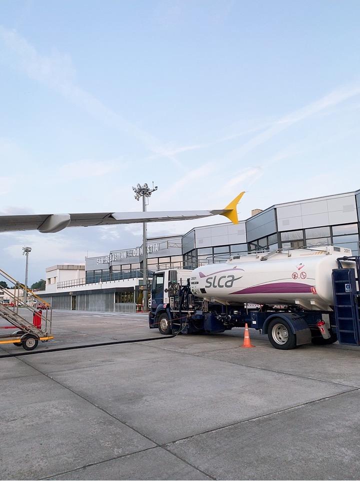 スペイン サンセバスティアン空港 ブエリング航空 Vueling Airlines
