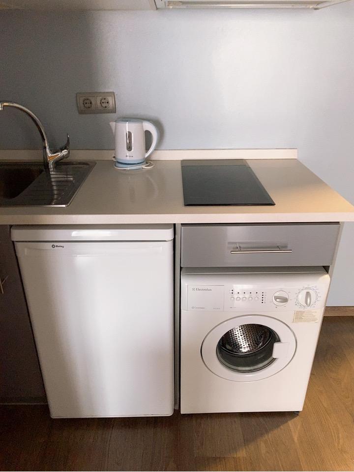 サンセバスティアン ホテル キッチン 洗濯機 welcome gros hotel