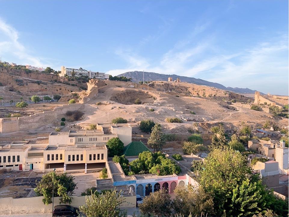 モロッコ フェズ リヤド 宿泊 景色 絶景