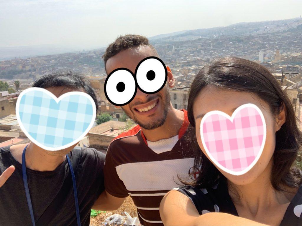 モロッコ フェズ 旧市街 案内 観光 メディナ ガイド 景色 絶景