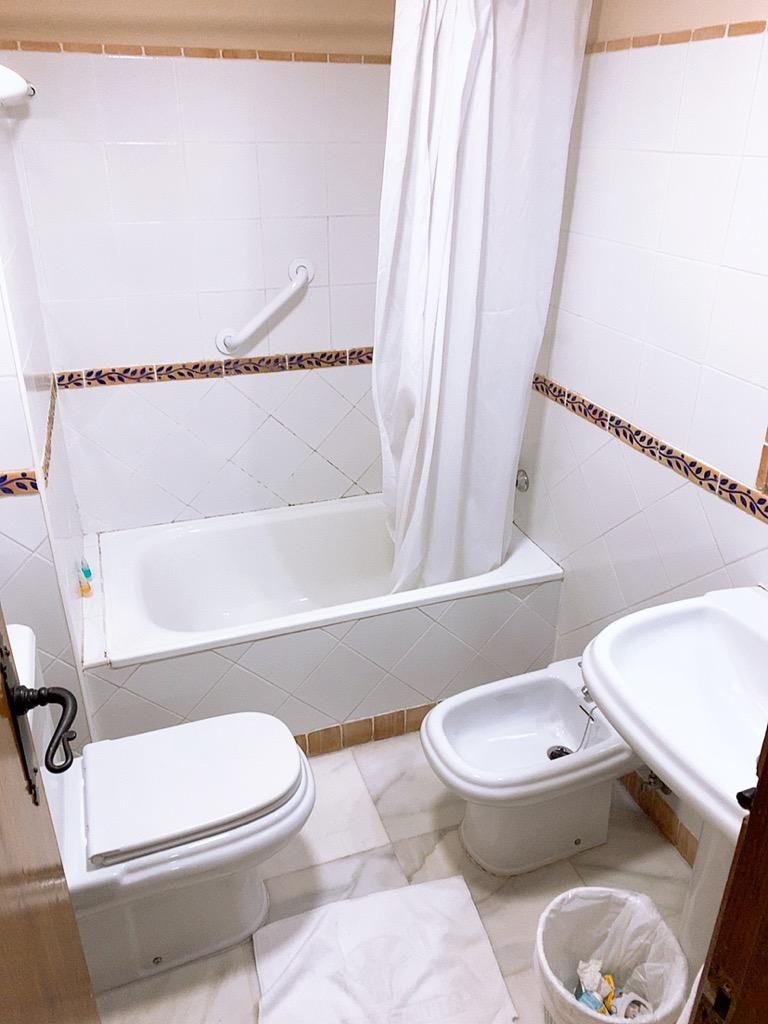 コルドバ ホテル メスキータ HOTEL MEZQUITA トイレ バスルーム シャワー