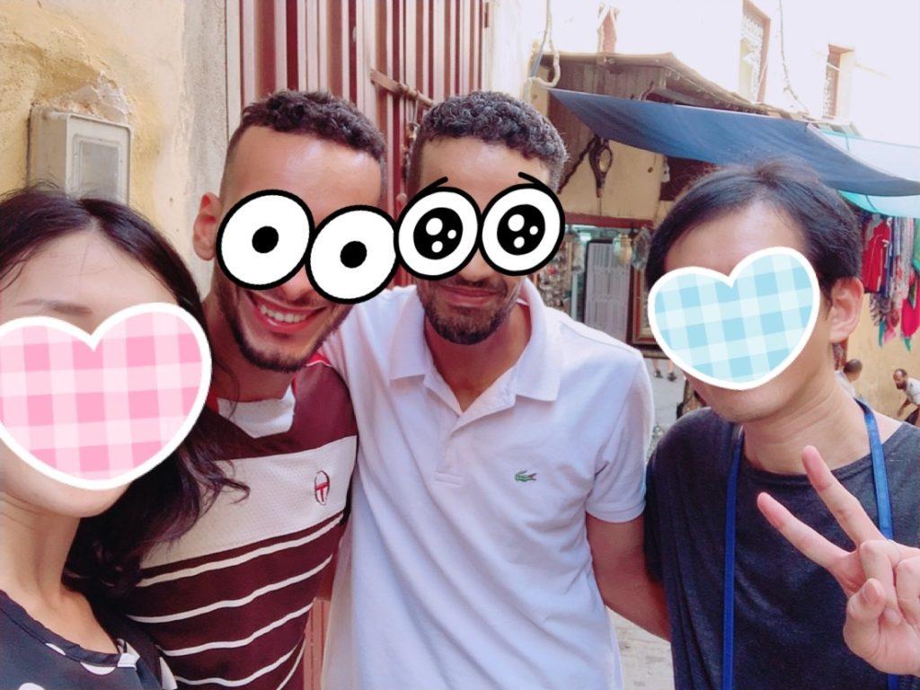 モロッコ フェズ 旧市街 案内 観光 メディナ ガイド 現地人