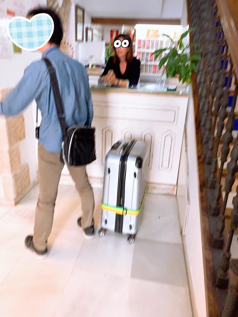 コルドバ ホテル メスキータ HOTEL MEZQUITA フロント