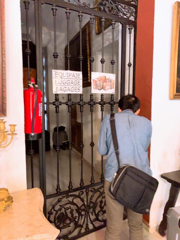 コルドバ ホテル メスキータ HOTEL MEZQUITA 鞄 スーツケース