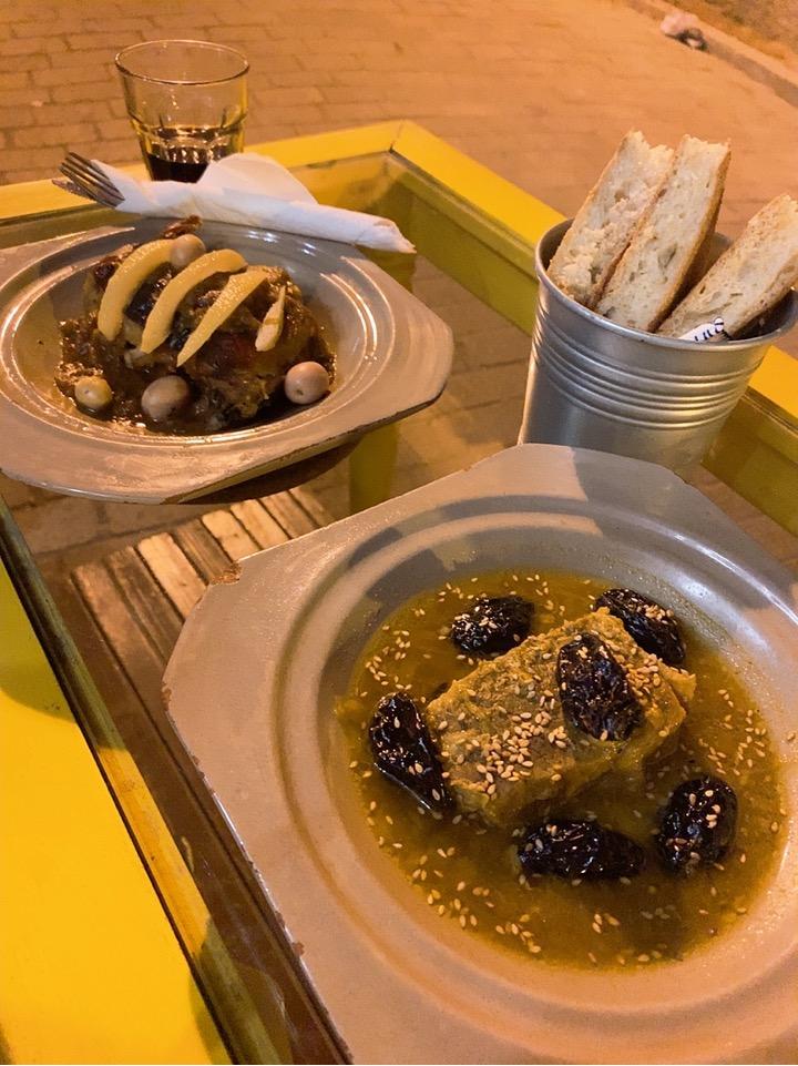 モロッコ フェズ フェス 旧市街 レストラン おすすめ モロッコ料理