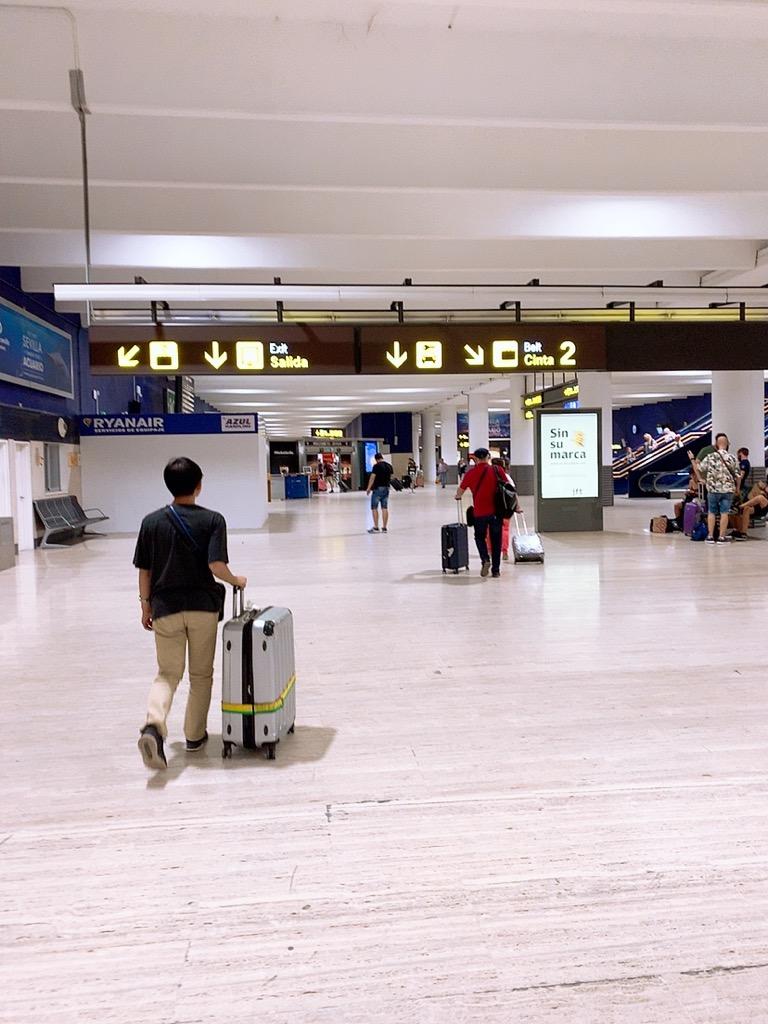 スペイン セビリヤ セビーリャ 空港