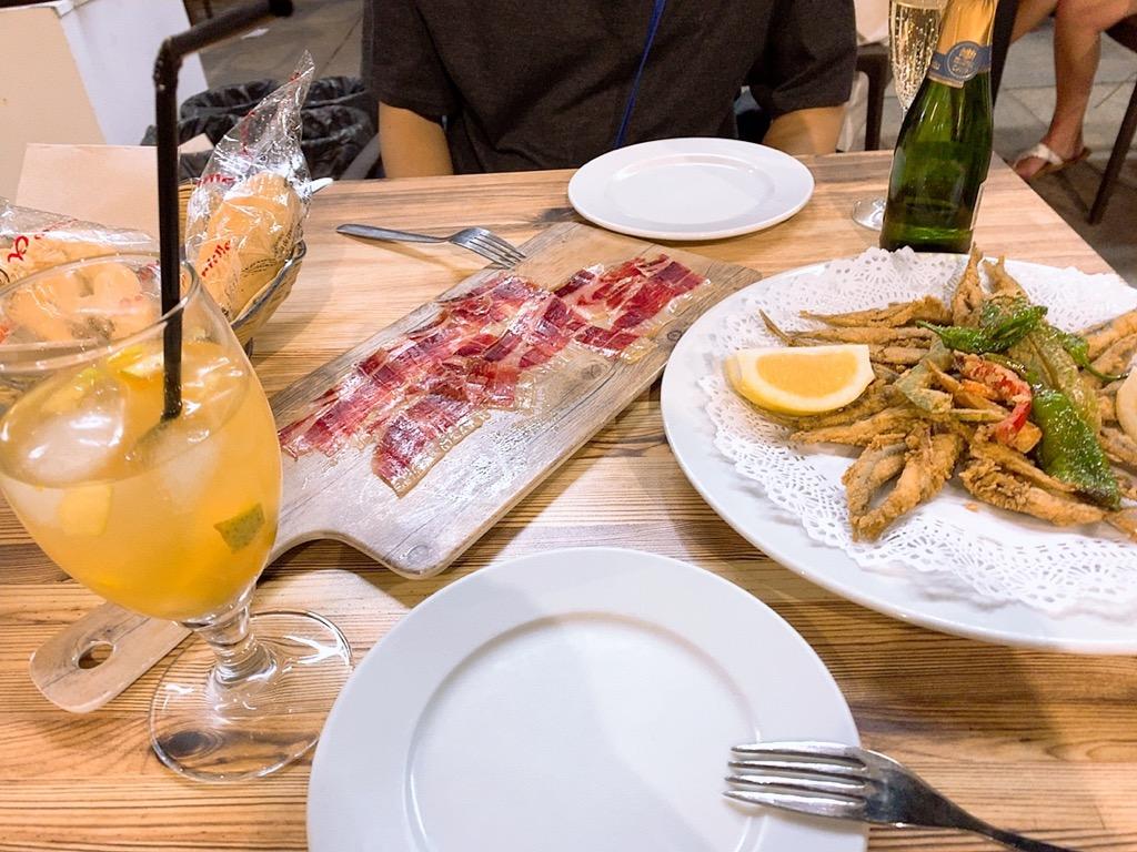 スペイン セビリア セビーリャ バル レストラン ディナー