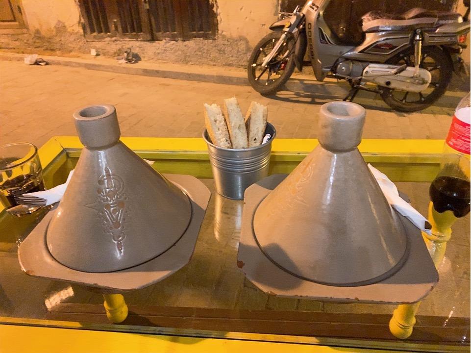 モロッコ フェズ フェス 旧市街 レストラン おすすめ タジン鍋
