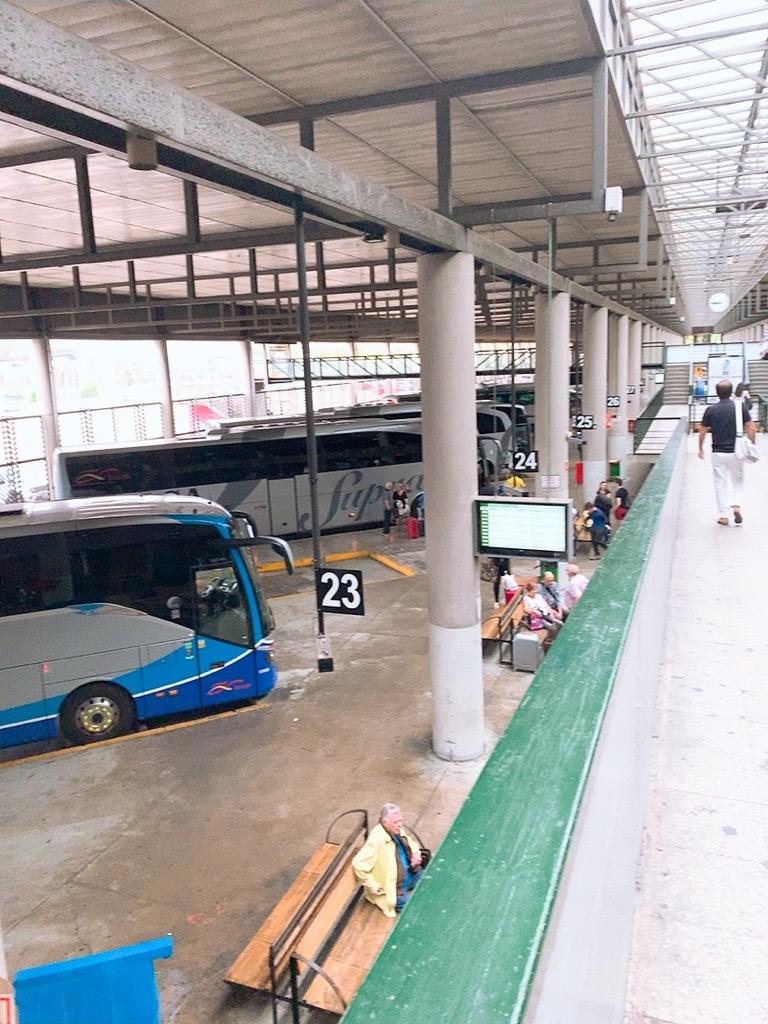 セビリア バスターミナル ALSA plaza de armas