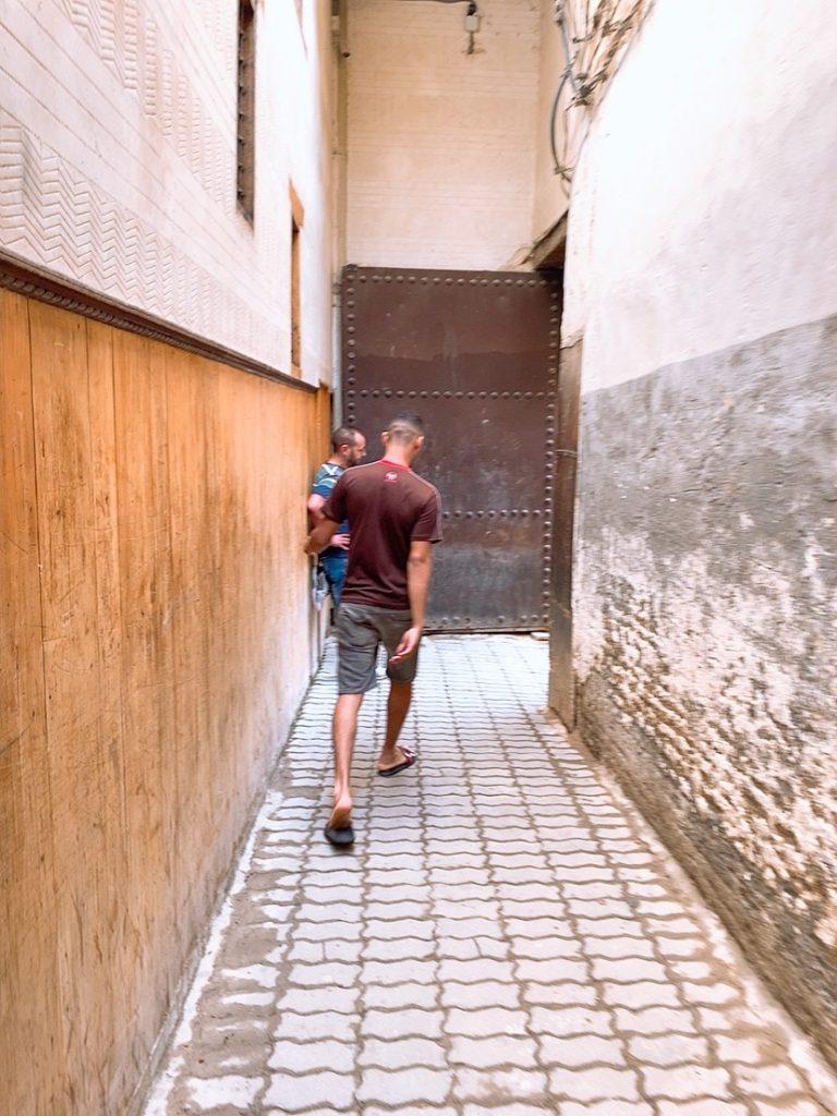 モロッコ フェズ 旧市街 観光 案内 案内
