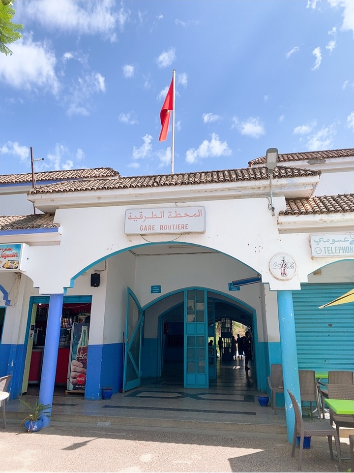 モロッコ シャウエン バス乗り場 ctm
