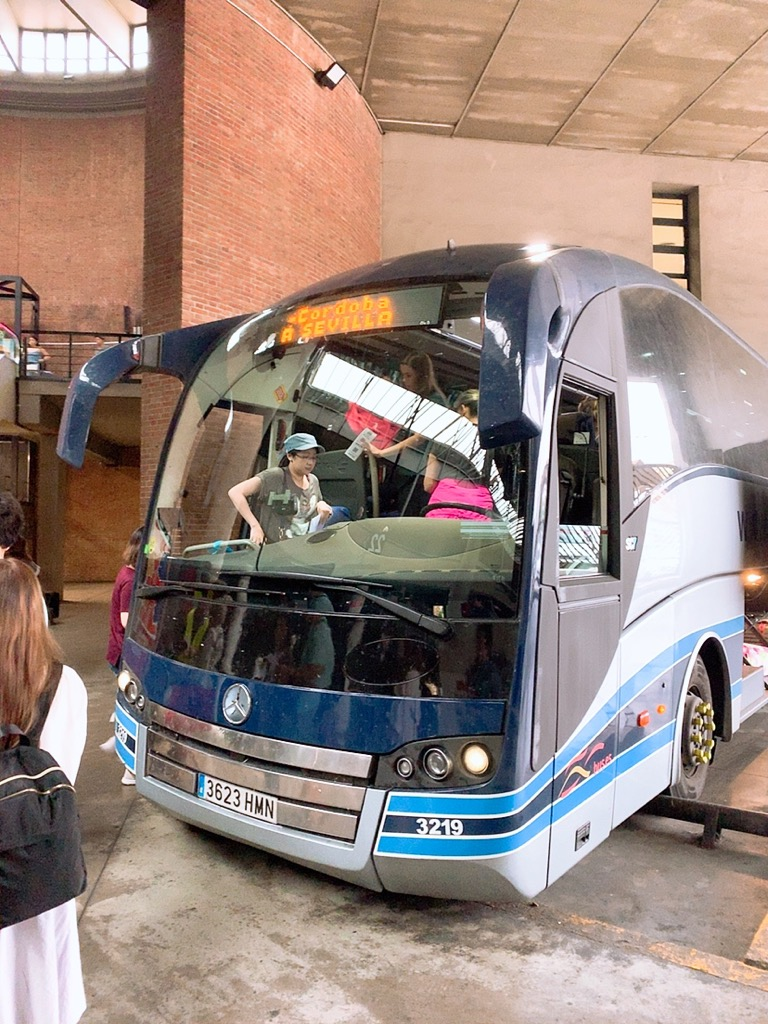 セビリア コルドバ バス ALSA plaza de armas