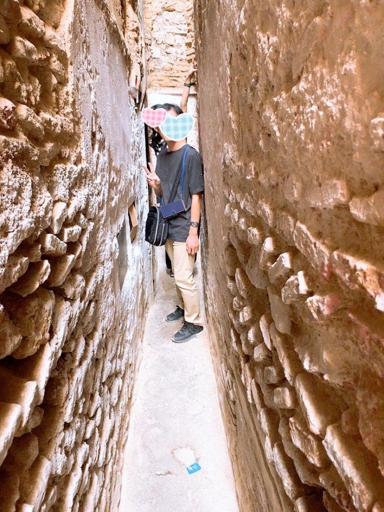 モロッコ フェズ 旧市街 案内 観光 メディナ ガイド 細い路地