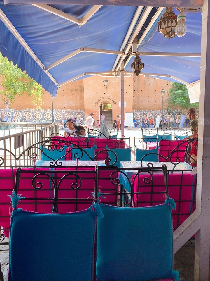 モロッコ シャウエン レストラン ランチ カフェ