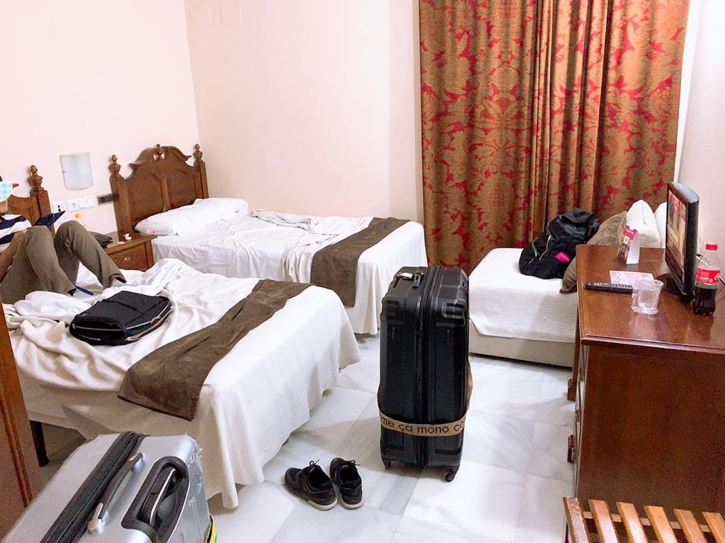 コルドバ ホテル メスキータ HOTEL MEZQUITA 部屋 広さ