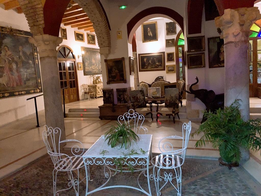 コルドバ ホテル メスキータ HOTEL MEZQUITA ロビー