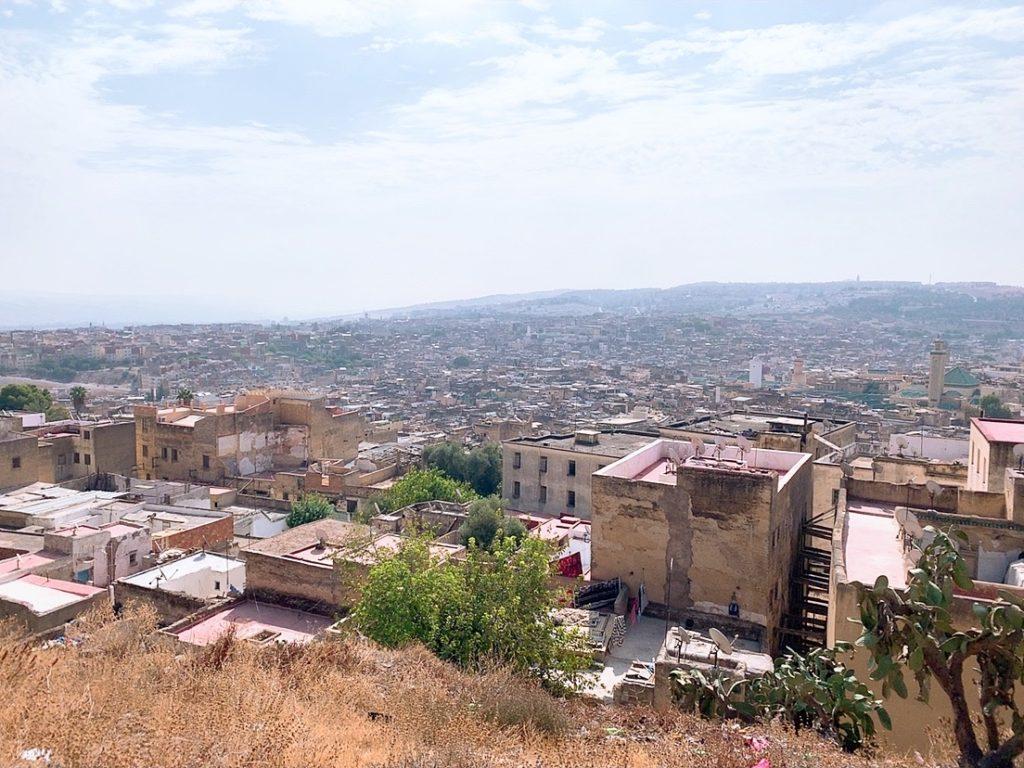 モロッコ フェズ 旧市街 案内 観光 景色 Marinid Tombs