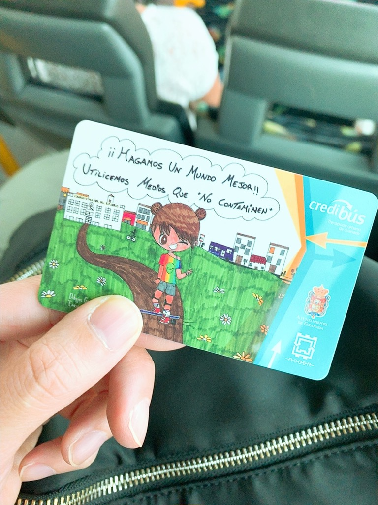 グラナダ バス 回数券 チケット