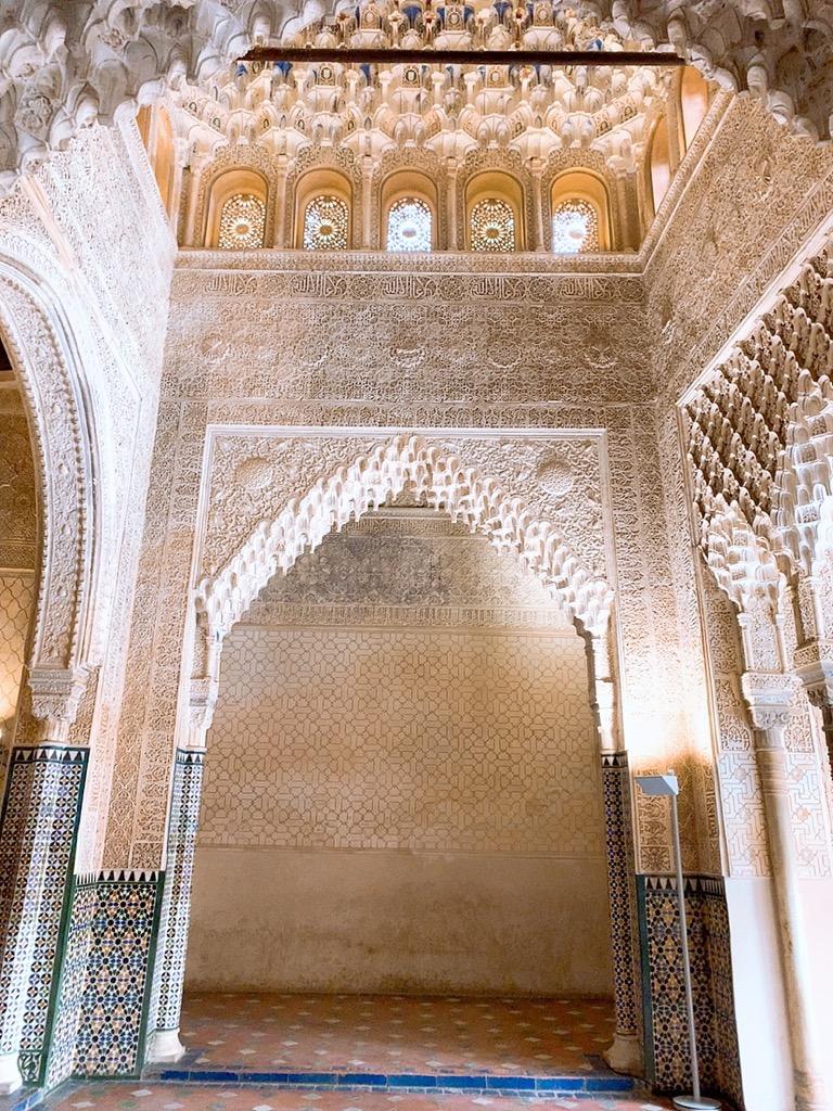 アルハンブラ宮殿 ナスル朝宮殿 グラナダ スペイン 観光 スポット